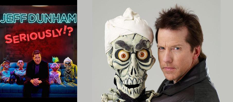 Jeff Dunham at Sangamon Auditorium