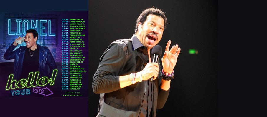Lionel Richie at Bank of Springfield Center