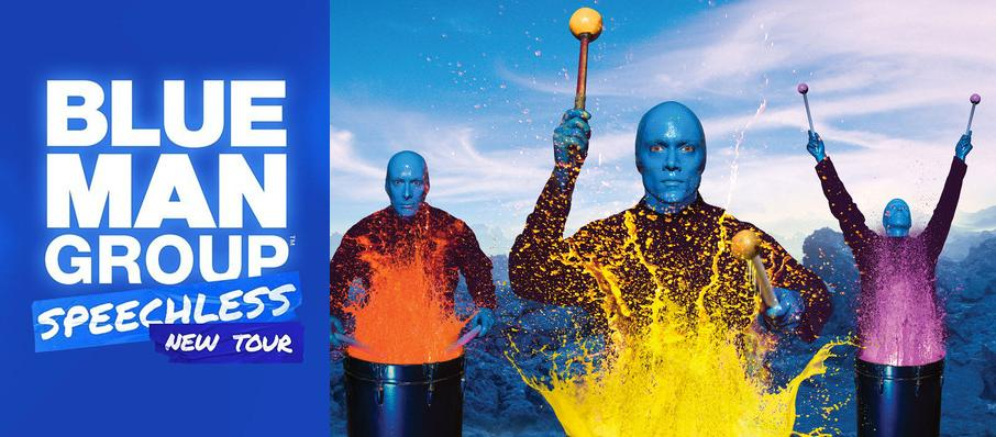 Blue Man Group at Sangamon Auditorium