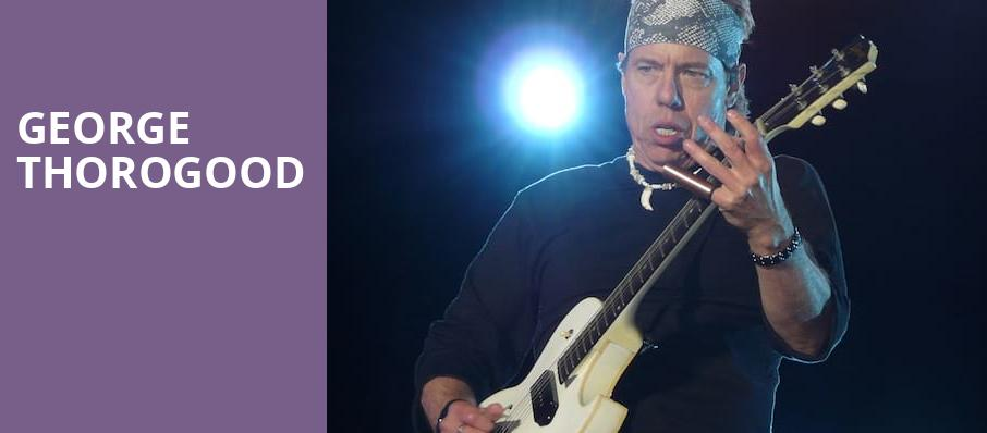 George Thorogood, Illinois State Fairgrounds, Springfield