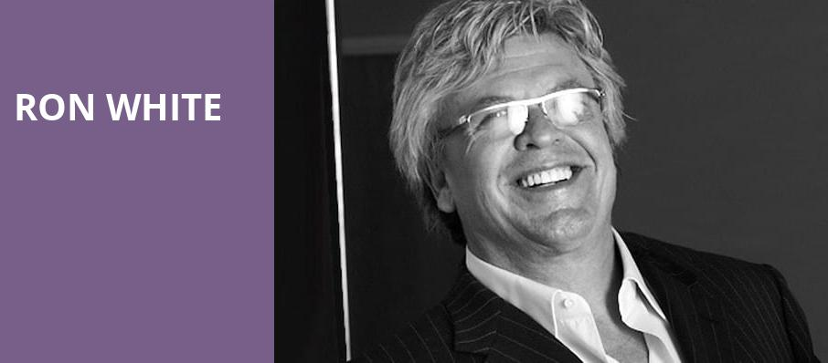 Ron White, Sangamon Auditorium, Springfield